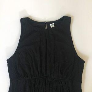 Old Navy Black Maternity Maxi Dress